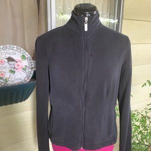 Danskin Black Fitted Jacket
